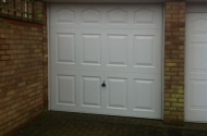 Completed Sectional Door Project