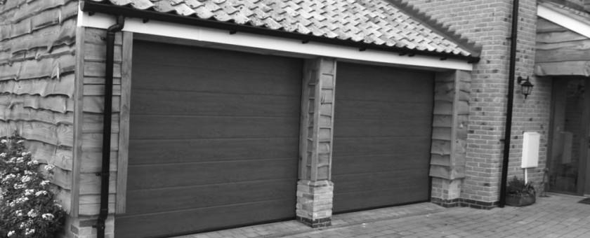 Completed Garage Doors