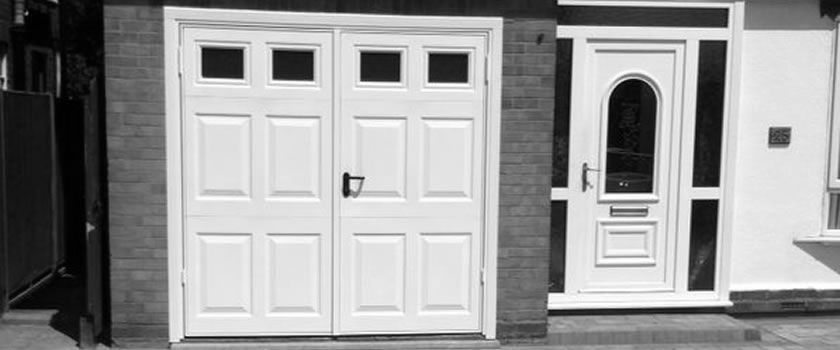 Side Hinged Opening Garage Doors